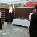 De chocoladefontein is gegarandeerd een grote publiekstrekker in jouw stand.