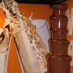 Tijdens de wetenschapsdag in jaarbeurs Utrecht, kregen alle bezoekers een verse aardbei met chocolade aangeboden door di Chocolo, namens LLOYDS Apotheek.