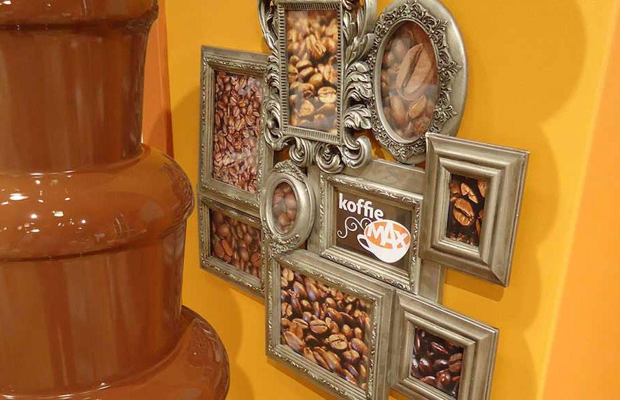 Mega XXL chocoladefontein bij KoffieMAX